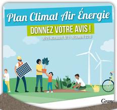 Plan Climat Air Energie : donnez votre avis !