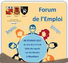 A vos agendas ! Mercredi 8 février - Forum de l'emploi à Montbert