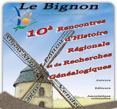 10�me rencontres d'Histoire R�gionale et de Recherches G�n�alogiques