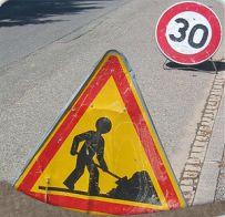 Travaux rue de la Roche - RD 62