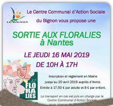 Sortie aux Floralies