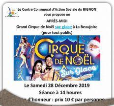 Sortie Grand Cirque de Noël sur glace