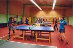 Salle de tennis de table et de tir à l'arc