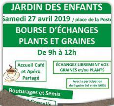 Bourse d'échanges de plants et graines