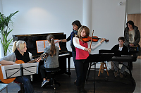 Enfants de l'association musicale
